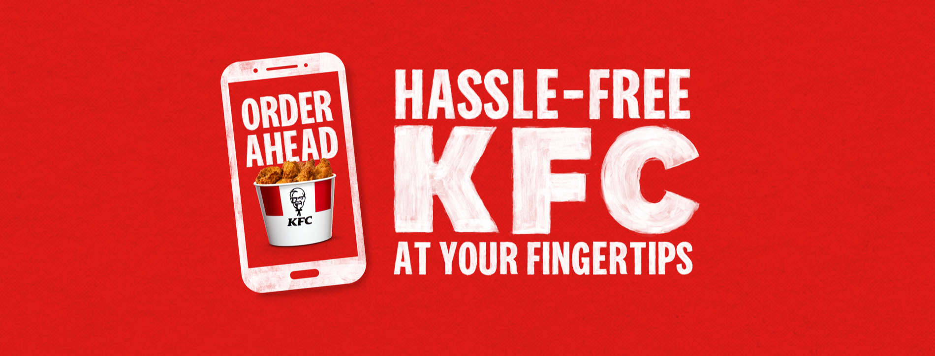 Hassle-free KFC at your fingertips
