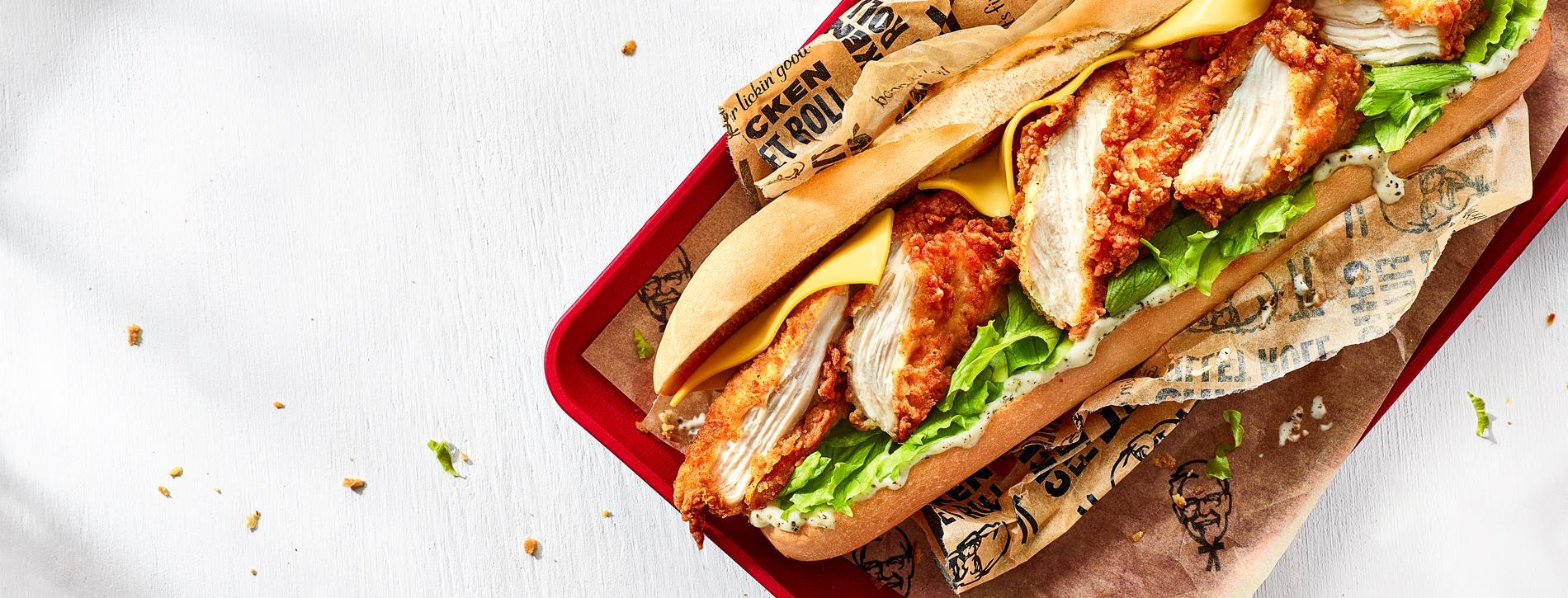 KFC CHICKEN FILLET ROLL